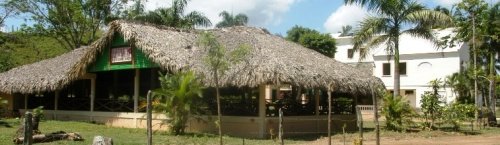 Rancho La Cueva on the beach of Playa Limon in Miches, Dominican Republic